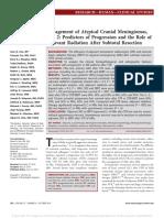 Management of Atypical Cranial Meningiomas Part 2