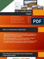 Paul Hersey & Ken Blanchard Situational Leadership Model