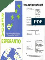 Livro esperanto Método  Zagreba