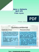 QUI 070 Clase Química Ambiental