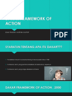 Dakar Framework of Action