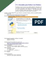 Python Opencv Windows