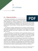 Carranza, J. (1994). Etología. Introducción a La Ciencia Del Comportamiento. Cap 2