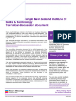 New Zealand Institute of Skills Technology Technical Discussion Document V2