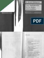 Etchegoyen Horacio R - Los Fundamentos De La Tecnica Psicoanalitica.pdf