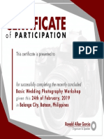 Workshop Certificate FEB24