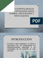 dietas hospitalaria