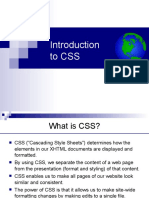 6. Introduction to CSS