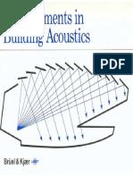 Measurement Building acoustics