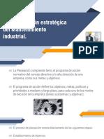 3.2. Planeación Estratégica Del Mantenimiento Industrial.