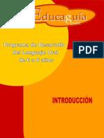 Programa de Lenguaje Introducción