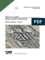 Fhwa Nhi-06-088 Volume i - Soils and Foundations