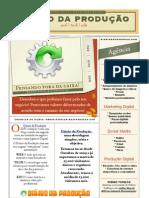 Folder Diário da Produção Agência Digital