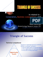 Triangle of Success.ppt