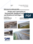 FHWA-NHI-10-024 Design & Construction of MSE Walls and Reinforced Soil Slopes - Volume I