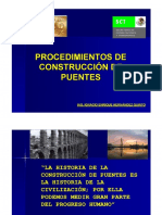 Procedimiento de Construccion de Puentes