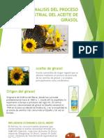 Proyecto Aceite de Girasol 2222