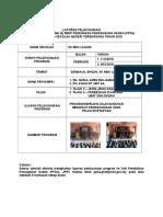 Borang Laporan Pelaksanaan Mesej 5 Minit Ppda 2