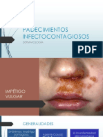 Dermatología Impétigo