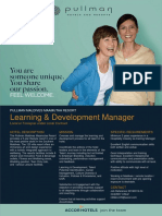 Flash Opportunity Template - Pullman Maamutaa Maldives - Learning Development Manager