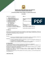 2014-1 BIOQUIMICA DE REC. VEGETALES PROF. D. IPARRAGUIRRE PLAN 2003+