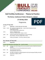 Bull Fertility Final Programme 2
