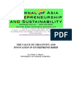 The value of creativity and innovation .pdf