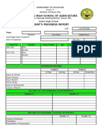 Senior High School Guidance Form