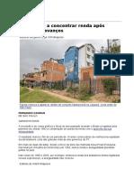 Brasil Volta a Concentrar Renda