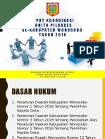 Bahan Rakor Panitia Pilkades Th.2018
