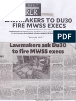 Philippine Daily Inquirer, Mar. 20, 2019, Lawmakers to DU30 fire MWSS execs.pdf