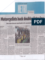 Philippine Daily Inquirer, Motorcyclists buck double plates.pdf