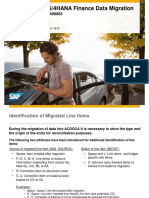 TechnicalDetailsMigrationDataModel S4HANA Finance