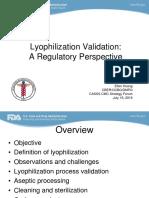 Procedure for Lyophilizer
