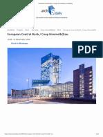 European Central Bank Case Study