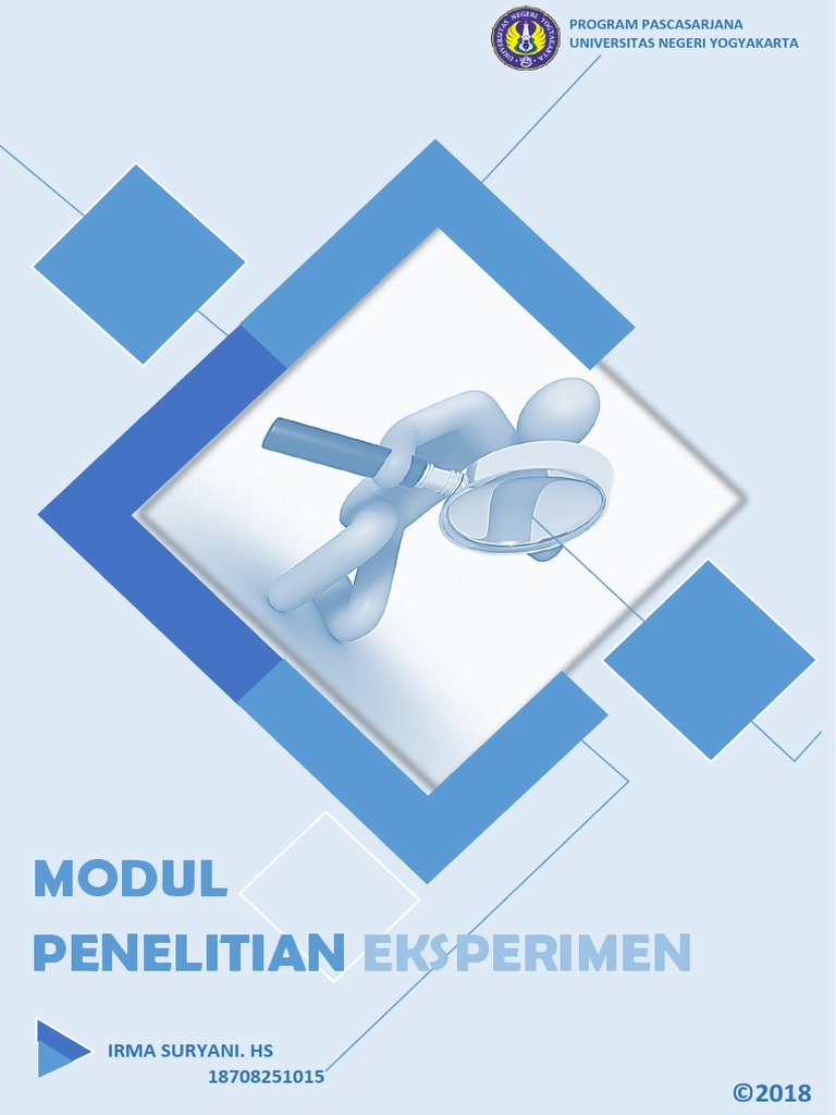 Modul Penelitian Eksperimen Pdf