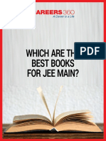 Which Are the Best Books for JEE Main