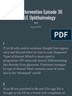 Divine Intervention Episode 36 Usmle Ophthalmology