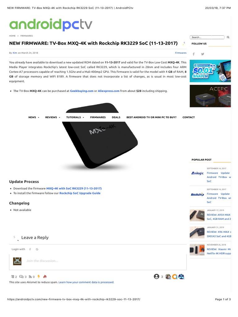 Rockchip Rk3229 Firmware