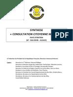 Synthèse Consultation Citoyenne Macron Générique - GJE&E