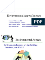 Aspect Impact Identification on Environment Management System