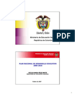 PND_2010_Educación Colombia