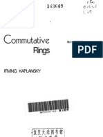 Kaplansky Commutative Rings