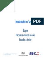 Implantation d Un ERP Étapes Facteurs Clés de Succès Écueils à Éviter