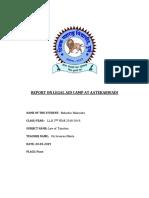 Legal Aid Visit Report