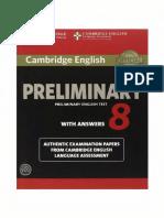 158- Cambridge English Preliminary English Test 8 With Answers_2014 -171p.pdf