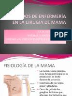 Cuidados de Enfermeria en La Cirugía de Mama
