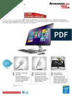 Lenovo Desktop a740 Datasheet