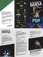 Programa del dia internacional de la dansa 2019