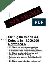 tqm Six Sigma